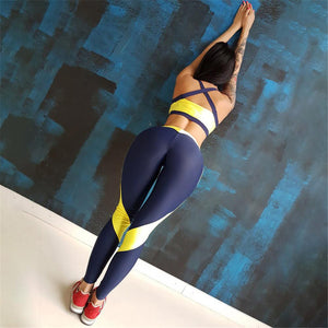 Solid Yoga Set Gym Clothing