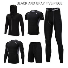 Load image into Gallery viewer, REXCHI 5 Pcs/Set Men's Tracksuit