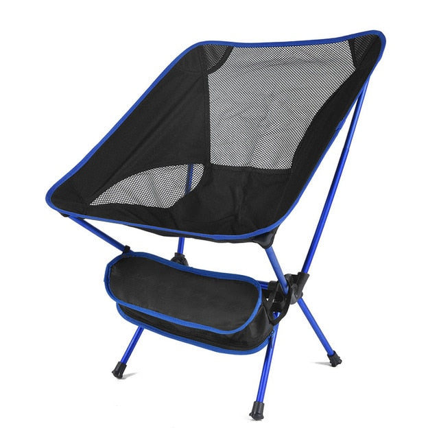 Foldable Camping Chair Fishing BBQ Hiking