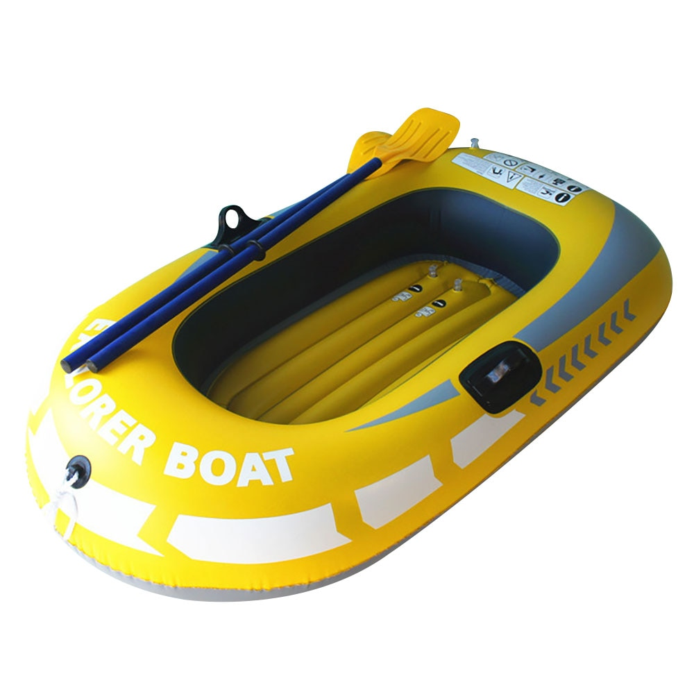 Inflatable Boat PVC Professional Sport Tools Rubber Boat Kayak Canoe Rowing Air Boat Double Valve Drifting Fishing Diving Boat
