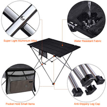 Load image into Gallery viewer, Outdoor Camping Table Portable Foldable