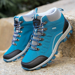 Women Waterproof Outdoor Hiking Shoes Woman Trekking Boots
