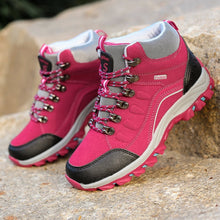 Load image into Gallery viewer, Women Waterproof Outdoor Hiking Shoes Woman Trekking Boots