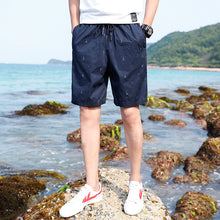 Load image into Gallery viewer, Work Out Print Cotton Cargo Shorts