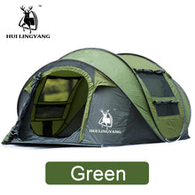 Load image into Gallery viewer, HUILINGYANG Tent Quick Open Automatic Camping Tent 3-4