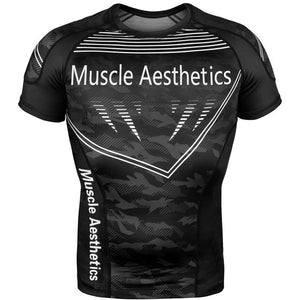 Gym T-shirt Men Fitness Bodybuilding