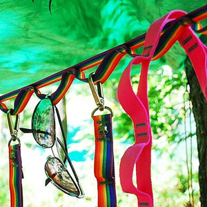 Color Outdoor Colorful Clothes Line