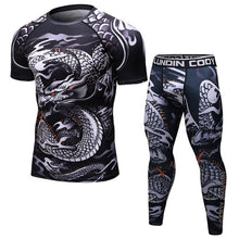 Load image into Gallery viewer, Brand New  BJJ MMA Work Out Compression