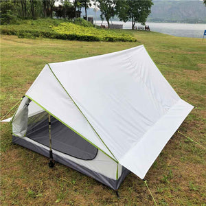 Outdoor Tent Pole Less Portable A-shaped Camping Tent Ultra Light  Tents Outdoor Camping Outdoor Equipment Camping Supplies