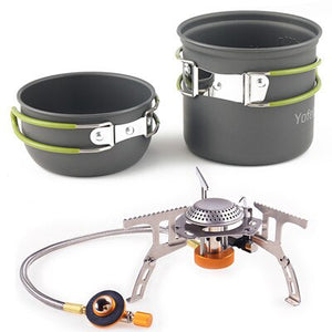 Camping Outdoor Gas Cooker Portable Stove Gas Heater