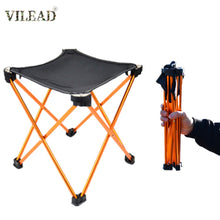 Load image into Gallery viewer, VILEAD Aluminum Alloy Ultralight Fishing Chair Foldable