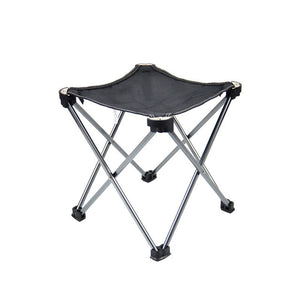 VILEAD Aluminum Alloy Ultralight Fishing Chair Foldable