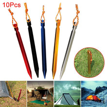 Load image into Gallery viewer, 10 Pcs 18cm Professional Tent Pegs