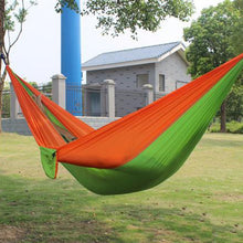 Load image into Gallery viewer, Outdoor Portable Parachute Fabric Camping Hammock