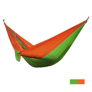 Outdoor Portable Parachute Fabric Camping Hammock