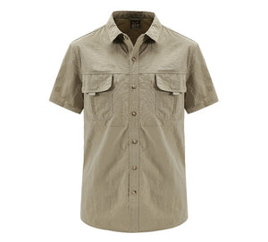 TRVLWEGO Men's Quick Dry Shirt Waterproof
