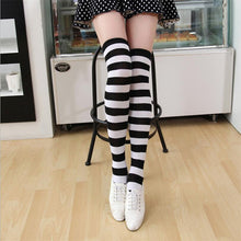 Load image into Gallery viewer, New Socks Fashion Stockings Casual Cotton Thigh High