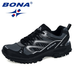 BONA 2020 New Designers Popular Sneakers Hiking Shoes