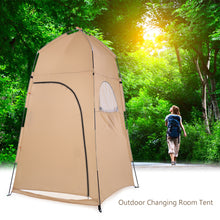 Load image into Gallery viewer, TOMSHOO Portable Outdoor Shower Tent Bath Changing Fitting Room Toilet Tent Shelter Automatic Outdoor Camping Beach Tent