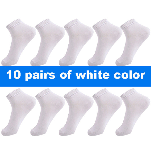 10 Pair High qualisty men ankle