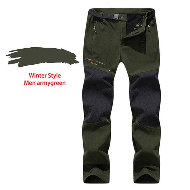 LUTU Summer winter outdoor Hiking Pants Men