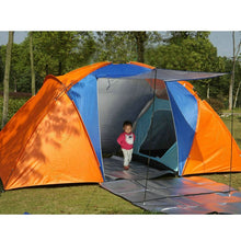 Load image into Gallery viewer, Quality 5-8 Person Large Tent Waterproof Double Layer Summer Tent Outdoor Camping Hiking Fishing Hunting Familiy Party Tent