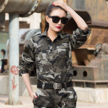 Load image into Gallery viewer, Outdoor Hunting Hiking Tactical Shirt Women