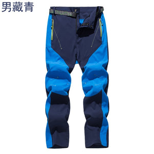 Outdoor Quick Dry Hiking Pants Men Trekking fishing