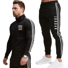 Load image into Gallery viewer, Men 2020 New Suit Two Pieces Set Men's Zipper Hoodie Jacket Sweatshirt&pants