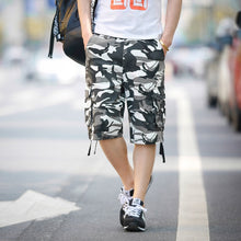 Load image into Gallery viewer, Camouflage Camo Cargo Shorts