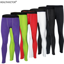 Load image into Gallery viewer, Dry Fast Breathable Stretchy Men Gym Leggings