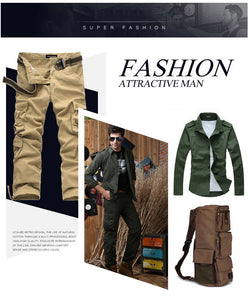 2020 Plus Size Men Outdoor Cargo Pants