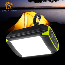 Load image into Gallery viewer, Flasher Mobile Power Bank Flashlight USB Port Camping Tent Light Outdoor Portable Hanging Lamp 30 LEDS Lantern Camping Light