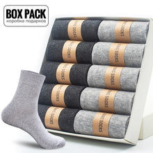 Load image into Gallery viewer, Box Pack Men's Cotton Socks 10Pairs