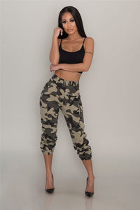 Women Hiking Pants Camouflage
