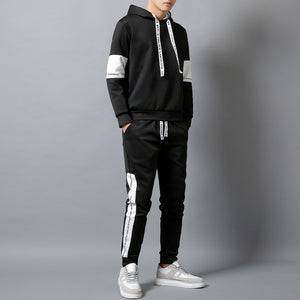 2020 Brand Hoodies Set Men Autumn Casual Tracksuit Hooded Hoody