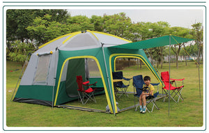 GRNTAMN  Outdoor Luxury Waterproof Cabin Camping Tent for Tourism 10 Persons Tent