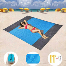 Load image into Gallery viewer, SandProof Beach Blanket Foldable