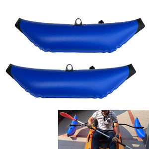 2 PCS Kayak Canoe Inflatable Outrigger Rowing/Fishing Boat SUP Standing Stabilizer Kit Gear Equipment Durable Standing Paddling