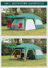 Load image into Gallery viewer, GRNTAMN  Outdoor Luxury Waterproof Cabin Camping Tent for Tourism 10 Persons Tent