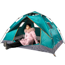 Load image into Gallery viewer, Portable Automatic Pop-Up Outdoor Family Camping Hiking Picnic Tent 2 Person Easy Open Camp Tents Ultralight Instant Shade