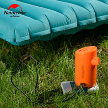Load image into Gallery viewer, Naturehike Portable Rechargeable Air Pump for Inflatable Sleeping Pad Camping Mattress Outdoor Mat Camp Bed Travel Pillow