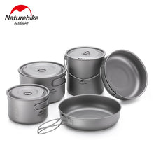 Load image into Gallery viewer, Naturehike Camping Cookware Backpacking