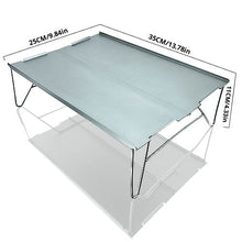 Load image into Gallery viewer, Ultralight aluminum alloy folding camping table