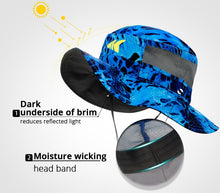 Load image into Gallery viewer, KastKing Sun Protection Fishing Hat Breathable Outdoor Sports Hat Fishing Cap Outdoor Cap Hiking Hat for Men Women