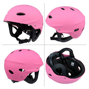 Safety Kayak Helmet Hard Hat Water Sports Rafting Surf Canoe Head Protector