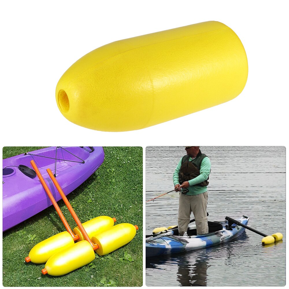 5 x 11-Inch Shrimp Trap Float Kayak Stablizer Anchor Buoy Indictor Marker For Canoe Kayak Rafting Sports Fishing Floating Kits