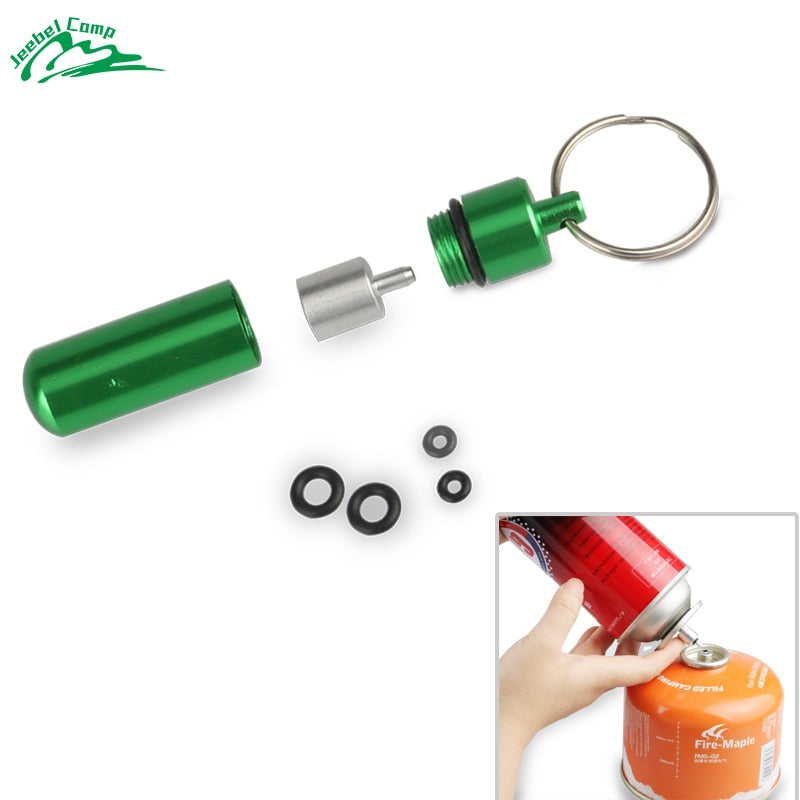 gas refill adapter outdoor camping stove