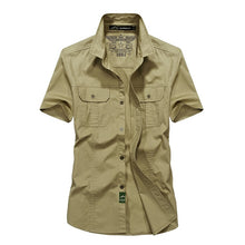 Load image into Gallery viewer, MANLI Outdoor Men's Summer Shirts Brand Short Sleeve