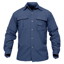 Load image into Gallery viewer, WOLFONROAD Men's Shirt Military Quick Dry Shirt